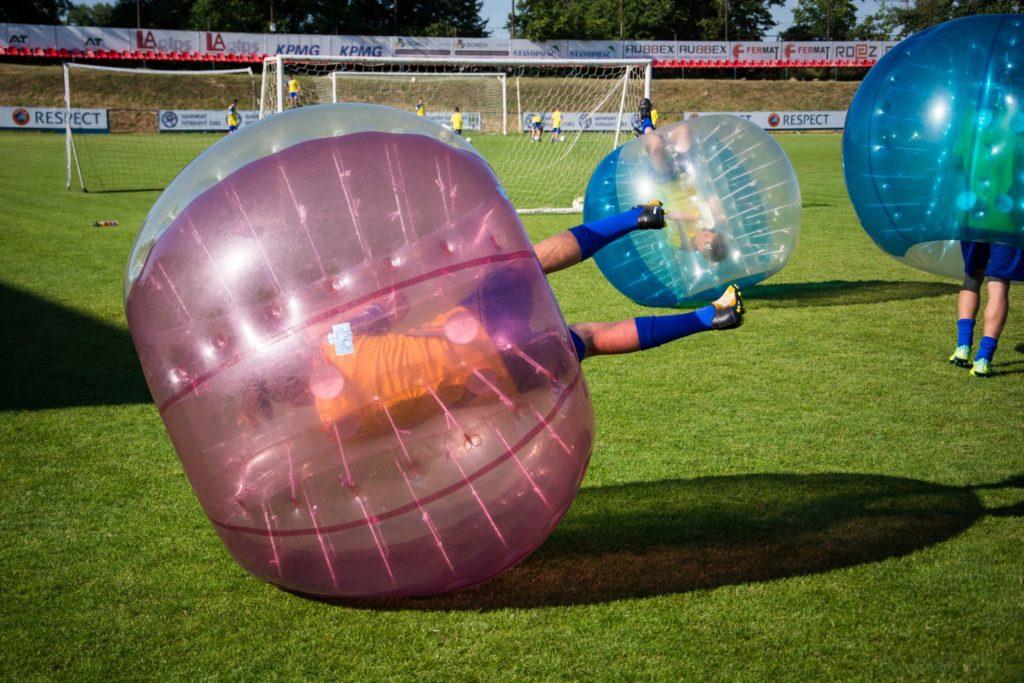 Bubble futbal