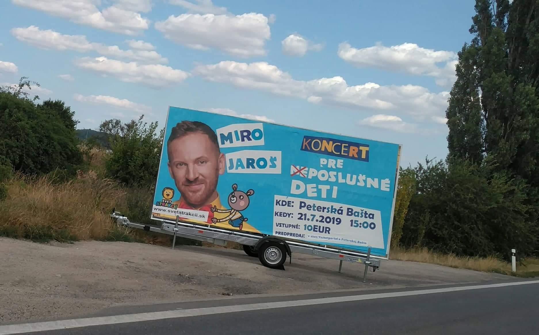 Eurobillboard Jaroš